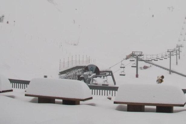 #Neige : Les Pyrénées en reprennent une couche