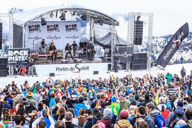 Festival Rock The Pistes  - ©Office de Tourisme Morzine Avoriaz