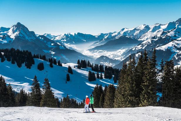 Skifahren in Saanersloch