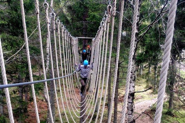 Nå blir det klatrepark i Hemsedal ©Christine Amdam