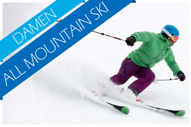 Damen All Mountain Ski Test 2017/2018