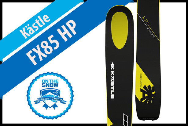 Kästle FX85 HP: Men's 17/18 All-Mountain Front Editors' Choice Ski- ©Kästle