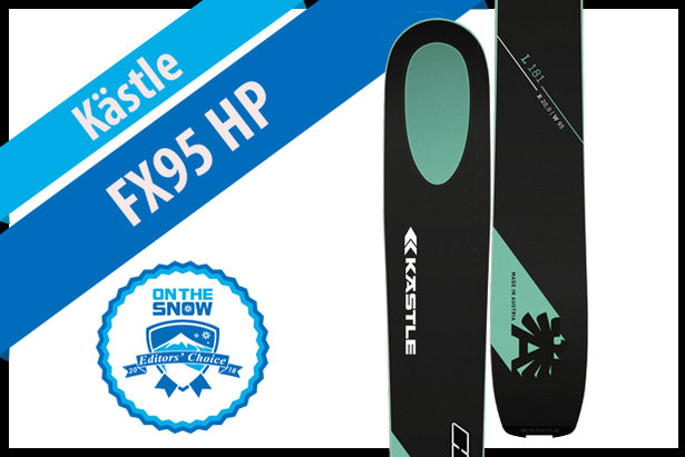 Kästle FX95 HP: Men's 17/18 All-Mountain Back Editors' Choice Ski ©Kästle