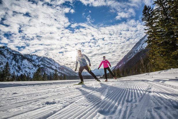 Langlaufen im Chiemgau: Ein Eldorado für Einsteiger und Genuss-Langläufer- ©Chiemgau Tourismus
