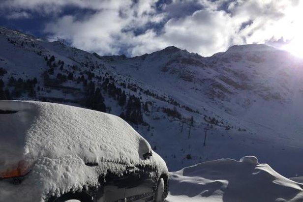 Weerbericht: sneeuw en koude om december mee te beginnen- ©Les Arcs/Facebook