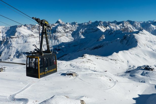Spectacular views over 400 peaks from Oberstdorf - Nebelhorn, Germany  - © Oberstdorf Kleinwalsertal Bergbahnen