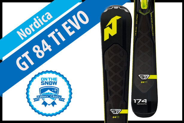 Nordica GT 84 Ti EVO, men's 17/18 Frontside Editors' Choice ski.