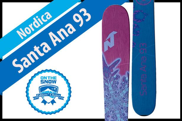 Nordica Santa Ana 93: Women's 17/18 All-Mountain Front Editors' Choice Ski- ©Nordica