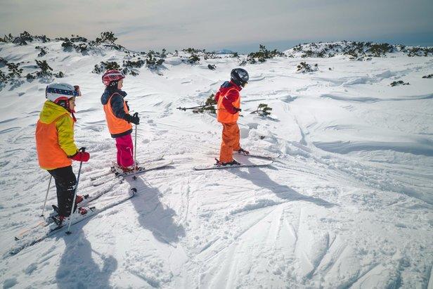 Půjčte dětem lyže z pohodlí domova- ©Visitdolomitipaganella.it