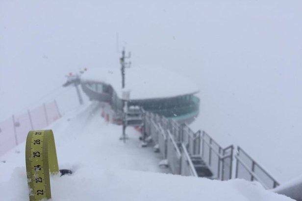 Neve in arrivo sulle Alpi tra sabato e domenica!- ©Facebook Pitztaler Gletscher