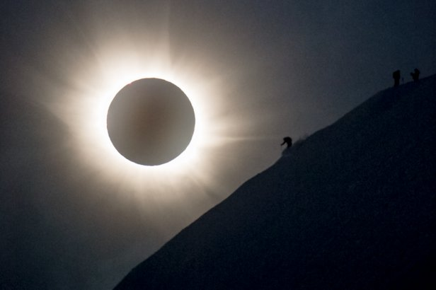 Images of the total solar eclipse caught by photographer Reuben Krabbe will live on forever.