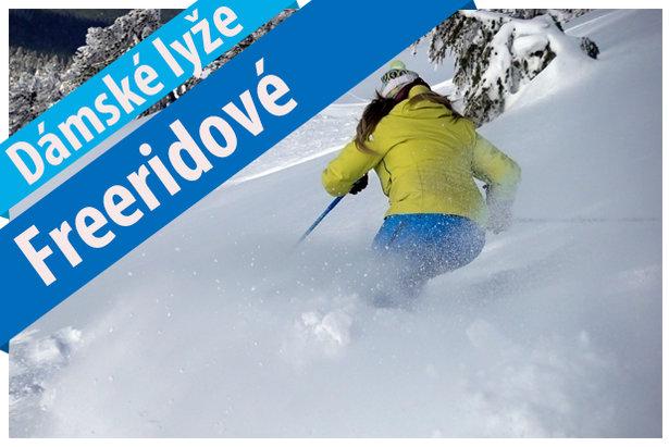 Test dámských freeridových lyží 2017/18- ©OnTheSnow