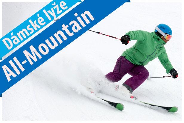 9 dámských modelů ve skitestu All Mountain lyží 2017/2018- ©OnTheSnow