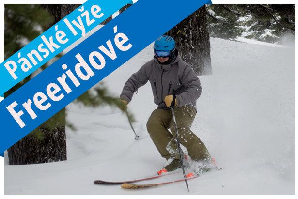 Skitest 2017/2018: Pánské lyže freeridové