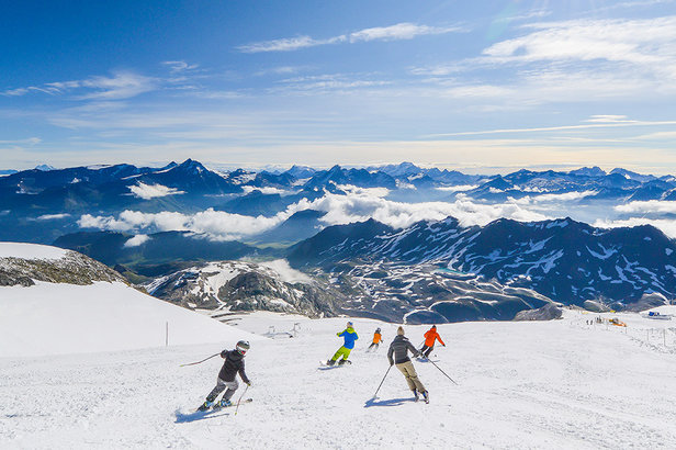 Tignes' Grande Motte Glacier offers the longest ski season in France  - © Maison de Tignes
