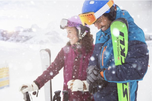 The TomTom Adventurer GPS outdoor watch offers a max-speed rating for skiers and riders.  - © tomtom.com