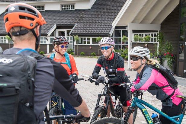 Det er forventet over 1000 stisyklister til Trysil når terrengsykkelfestivalen Utflukt kickstarter i dag.  - © Jonas Hasselgren/Utefoto