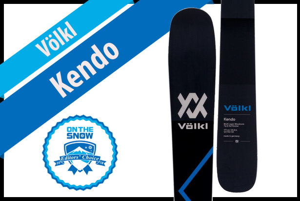 Völkl Kendo, men's 17/18 All-Mountain Front Editors' Choice ski.