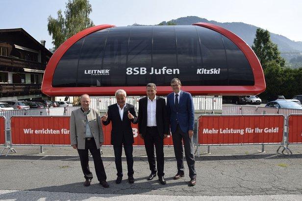 In Kitzbühel entsteht die neue Jufen-8SB-Bahn  - © Kitzski
