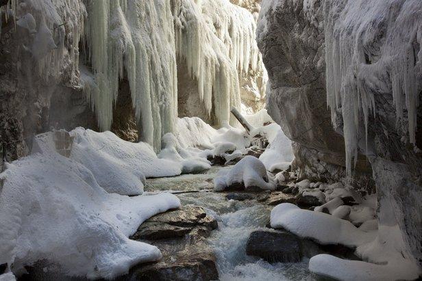 Vrchol zimní turistiky - Partnachklamm- ©Martin Wackerzapp