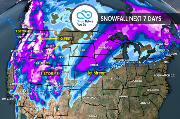 2.22 Snow Before You Go: Plenty of Powder for the Weekend ©Meteorologist Chris Tomer