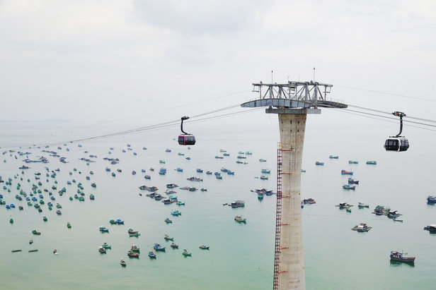 Doppelmayr eröffnet die längste Seilbahn der Welt- ©Doppelmayr