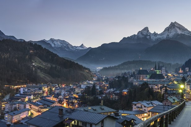 Berchtesgaden bei Nacht