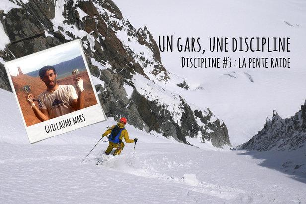 Débuter le ski de pente raideGuillaume Mars