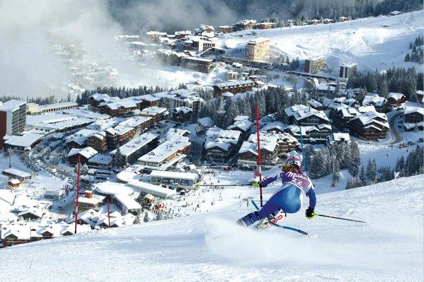 Courchevel vous pr pare quelque chose de g ant - Coupe du monde de ski courchevel ...