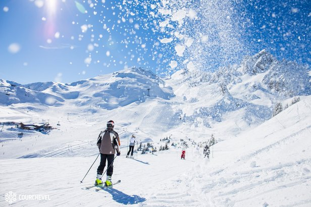 Courchevel has miles of perfectly-groomed green and blue runs