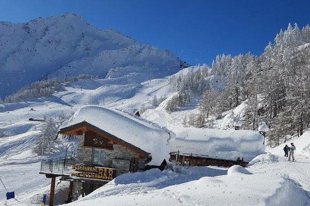 Dove sciare a Febbraio in Italia?- ©facebook Courmayeur Mt Blanc