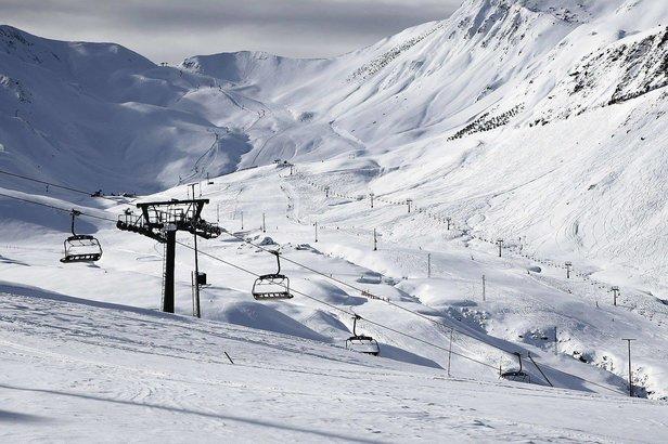 A l'approche des vacances de Noël, les conditions d'enneigement sont déjà excellentes sur les domaines skiables de Cerler et Formigal-Panticosa.