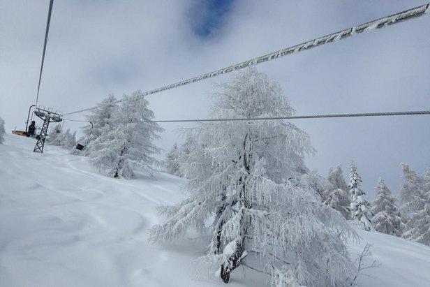 Neve fresca a Frabosa