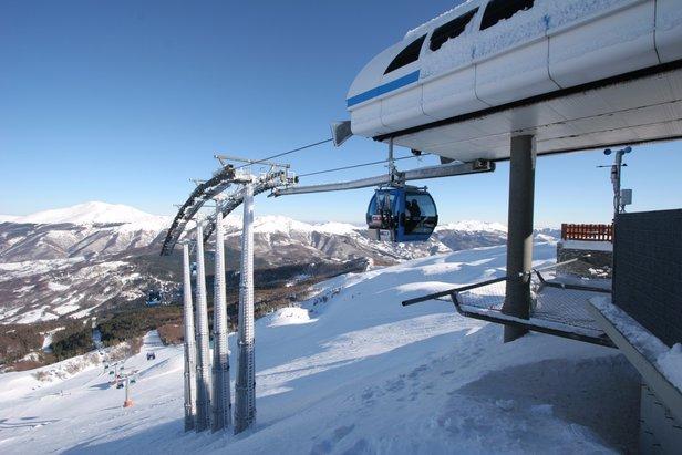 Quali sono le condizioni neve in Toscana in questo momento? ©Amiata Neve