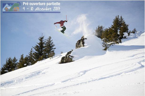 Le secteur PLANAY du domaine skiable d'Arêches Beaufort sera partiellement ouvert dès ce week-end !