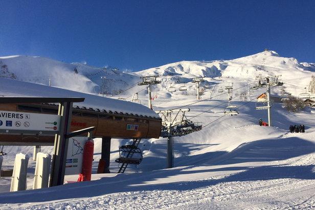 Du front de neige à La Tête de Bellard, la neige est au rendez-vous. Les stations des Sybelles sont prêtes pour l'ouverture samedi!