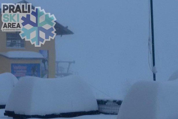 Weerfenomeen: retour d'est- ©Prali Ski Area FB