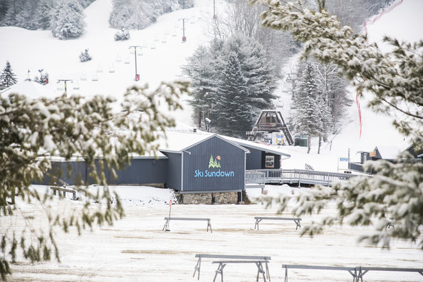 Ski Sundown Opening Day:  Thursday, December 21, 2017- ©Ski Sundown