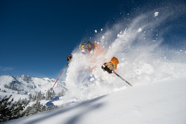 Squaw Valley | Alpine Meadows powder day.  - © Alterra Mountain Company