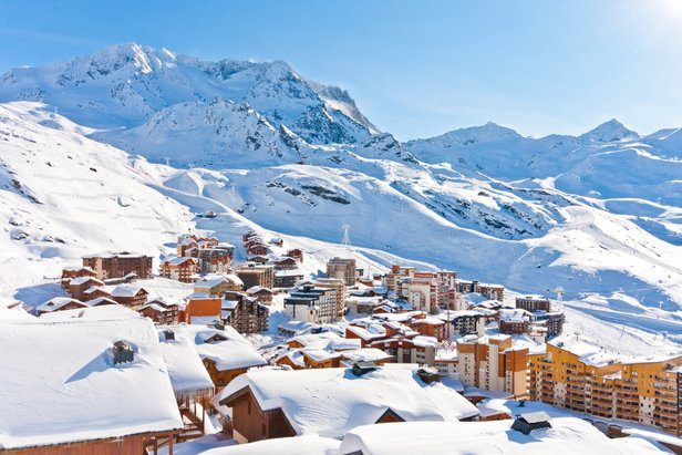 High-altitude Val Thorens was one of the most searched destinations this week