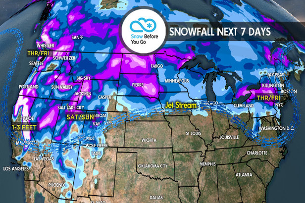 2.29 Snow Before You Go: Large Storms for Both Coasts- ©Meteorologist Chris Tomer