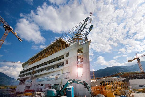 Tauern SPA World Kaprun in  Zell am See eröffnet Ende 2010