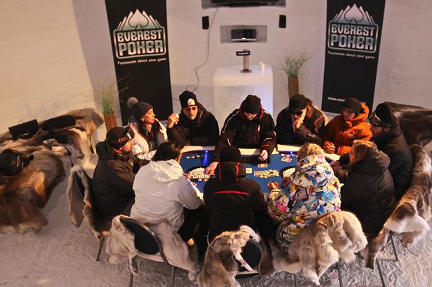Ein eisiges Poker-Erlebnis