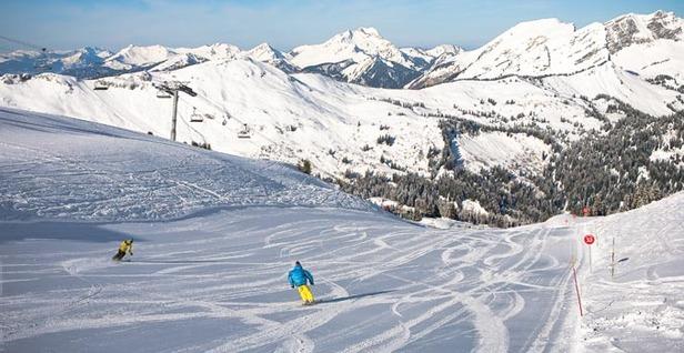 Un paradiso dello sci nel segno di Vuarnet