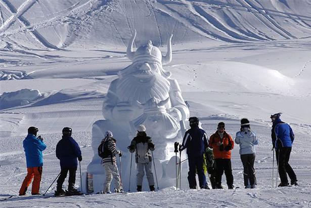 Ischgl Snow Art