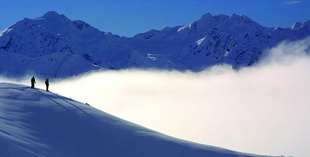 Sonnenskilauf in Lech und Zürs am Arlberg