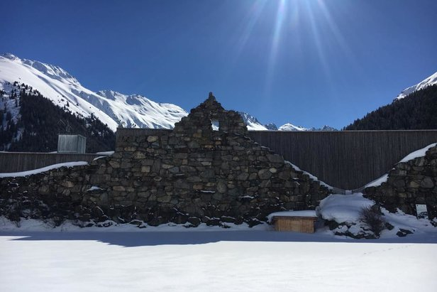 Alpinarium Galtur - Avalanche protective wall and museum  - © Monica Adorno