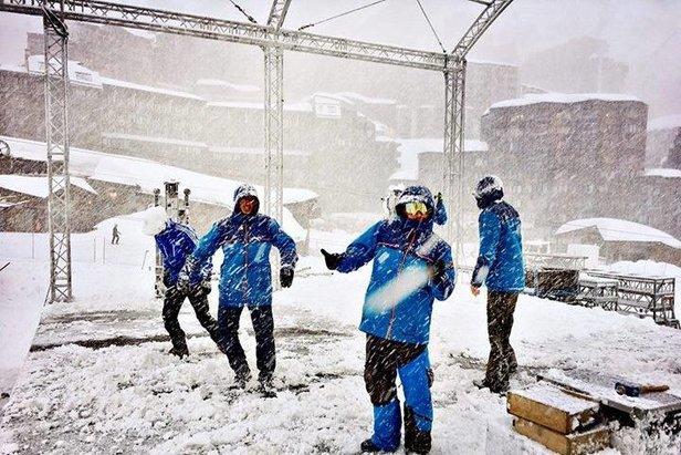 Jaké jsou sněhové podmínky v TOP 20 lyžařských střediscích?- ©Avoriaz/Facebook