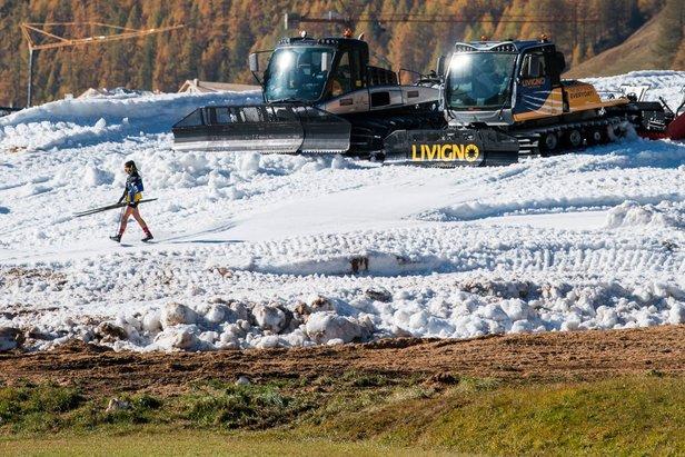 V Livignu v predstihu začala bežkárska sezóna