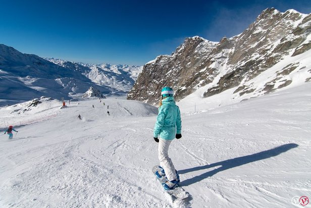 Where is the snow at our top 20 ski resorts?Val Thorens/Facebook